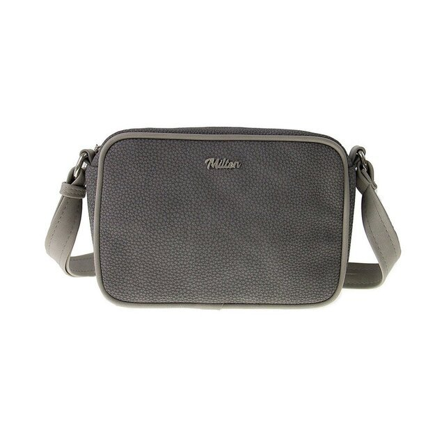 Crossbody bag Milton ML01 Light grey