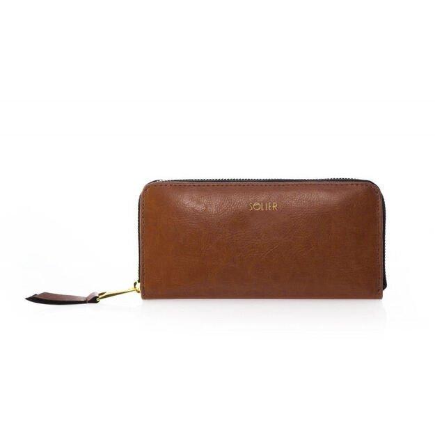 Elegant Women's leather wallet Solier P02