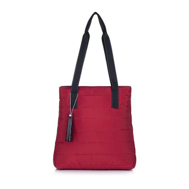 Felice women's shopper bag  Milton FB46 maroon