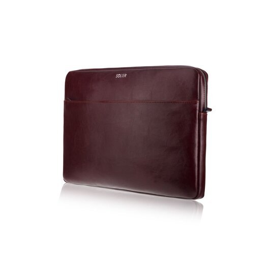 Genuine leather laptop case 13