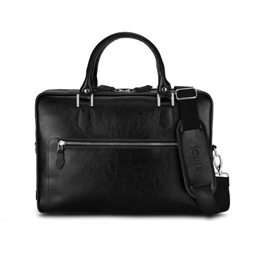 Laptop bag Solier SL23 black
