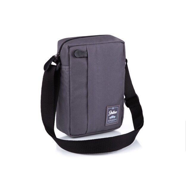 Men's bag Solier S35 grey