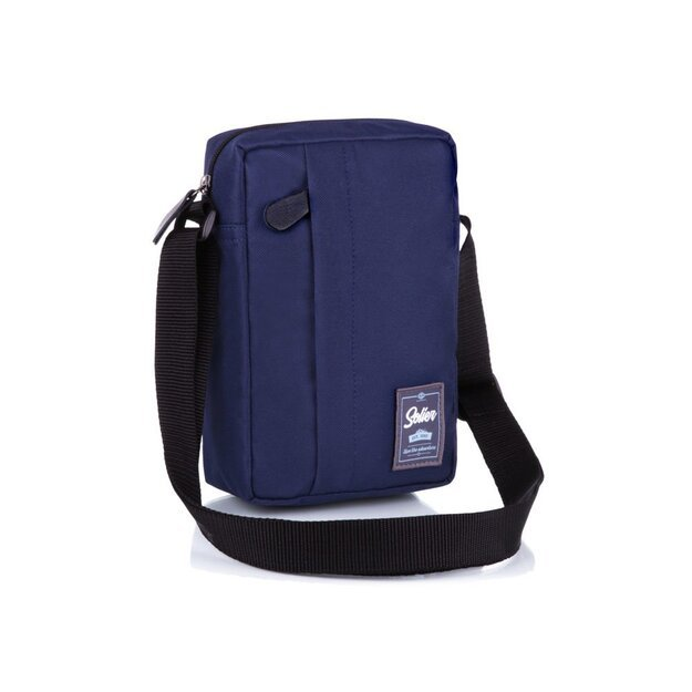 Men's bag Solier S35 navy