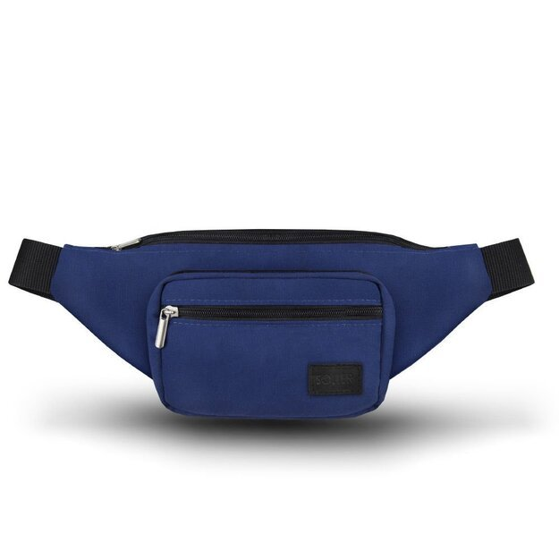 Men's waist bag Solier SN03 blue