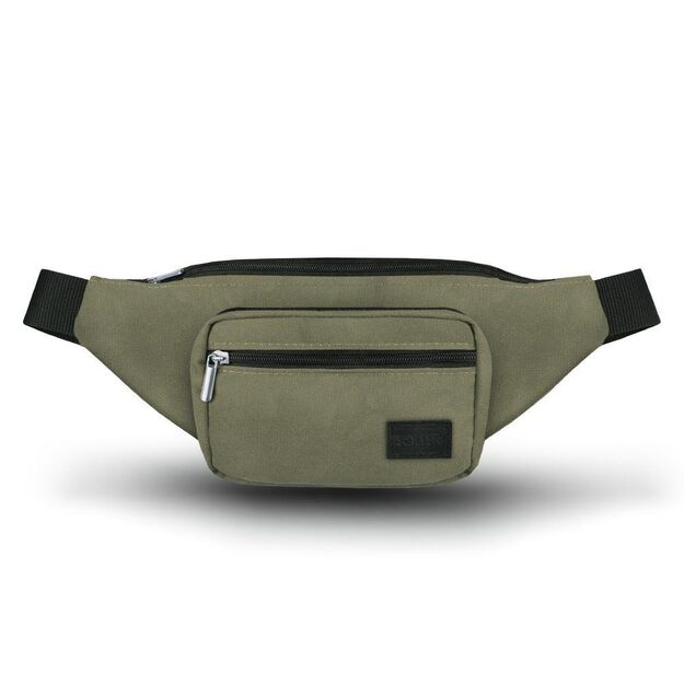 Men's waist bag Solier SN03 green