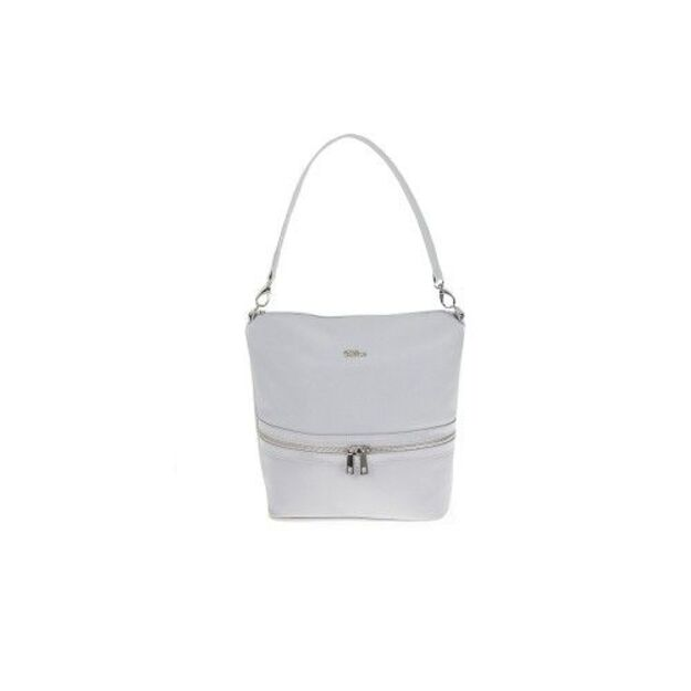 WOMEN BAG MILTON ML11 LIGHT GREY