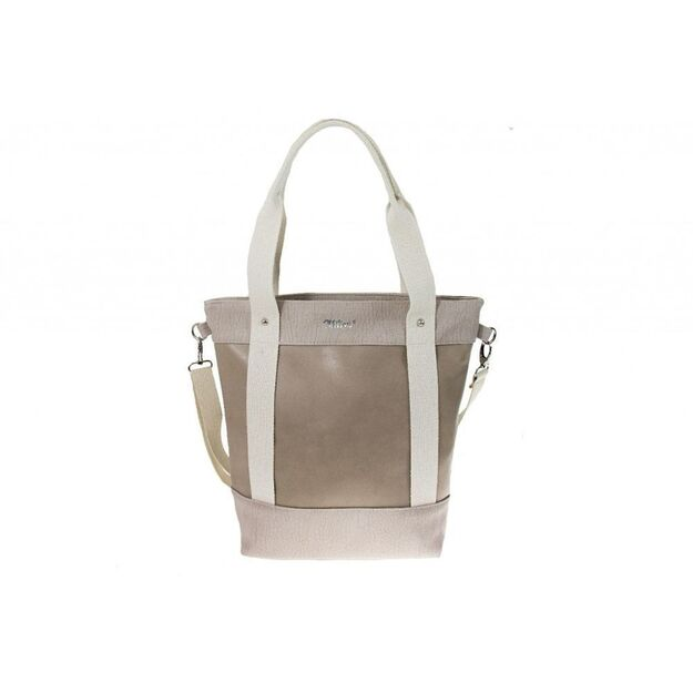 WOMEN BAG SHOPPER MILTON ML16 BEIGE