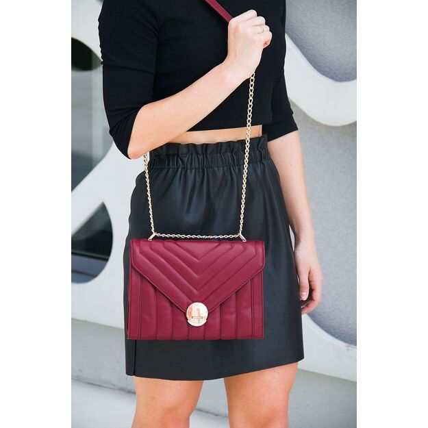Women's crossbody bag Felice FB39 burgundy