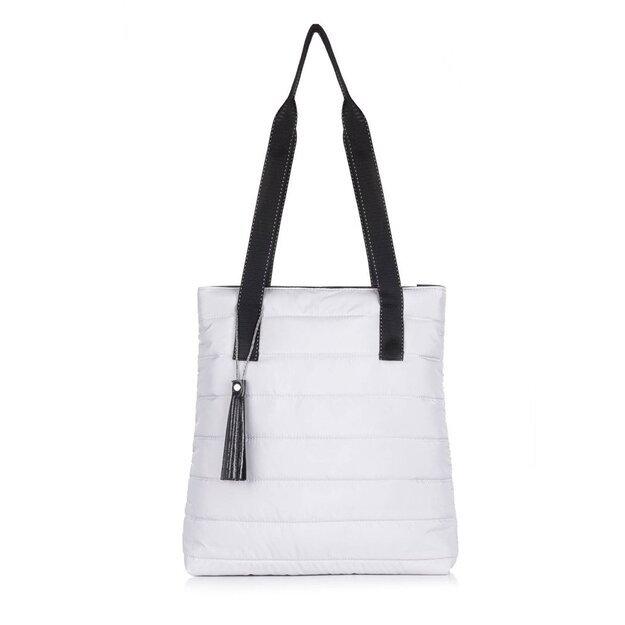 Women's shopper bag Milton FB46 grey