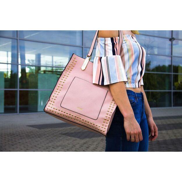 Women's shopper Felice FB36 light pink