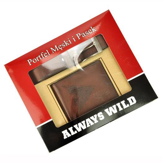 Vyriškas dovanų rinkinys Always Wild PSB-N7-02-GG